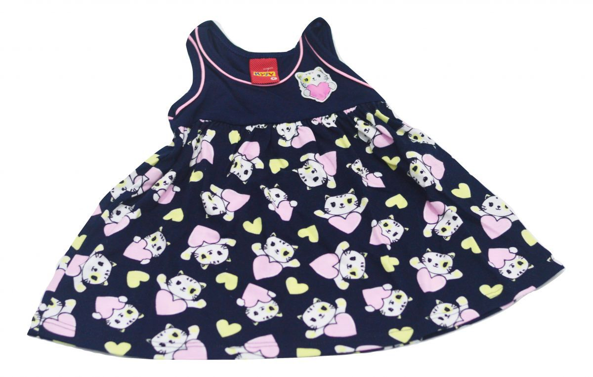 Vestido infantil de gatinhas Kyly