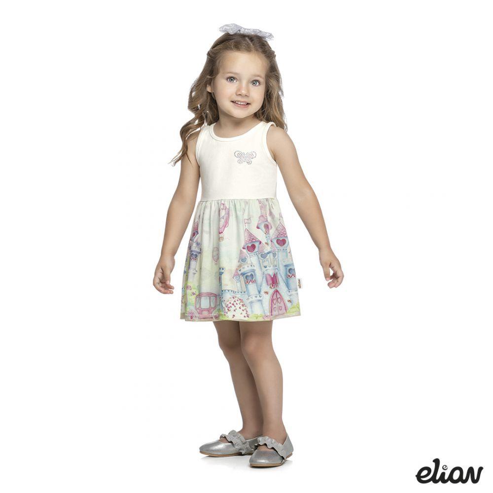 Vestido infantil feminino Elian