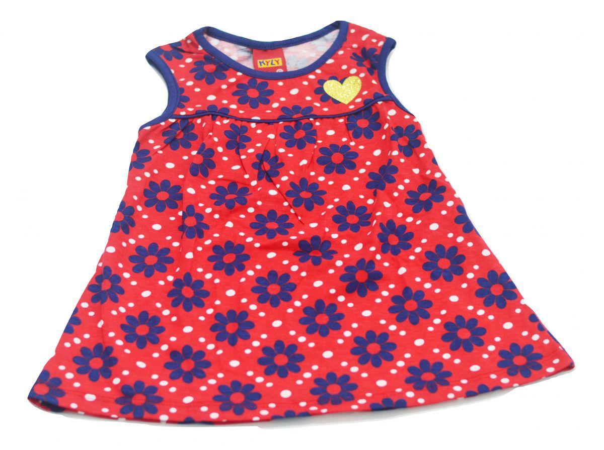 Vestido infantil florido Kyly