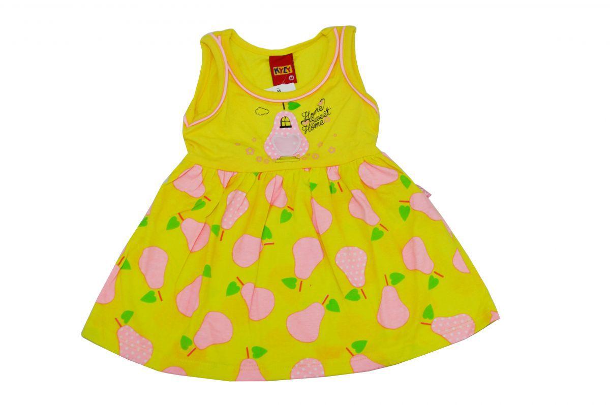 Vestido Infantil Regata Kyly Estampado com Pera