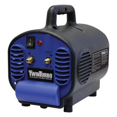 Estação Recolhedora Portátil 'Mini 'Twin Turbo'' 1/2HP Duplo Compressor Mastercool 69400-220