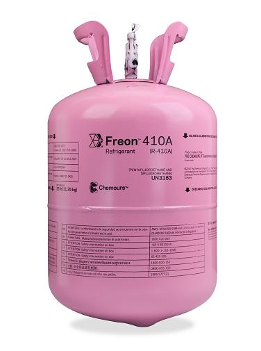 Fluido Refrigerante FREON 410A  (R-410A) DAC 11,35 Kg  (Antigo Dupont Suva 410A)