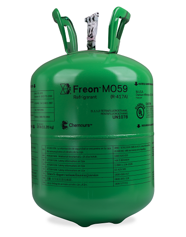 Fluido Refrigerante FREON MO59 (R-417A) DAC 11,35kg (Antigo Dupont Isceon MO59)