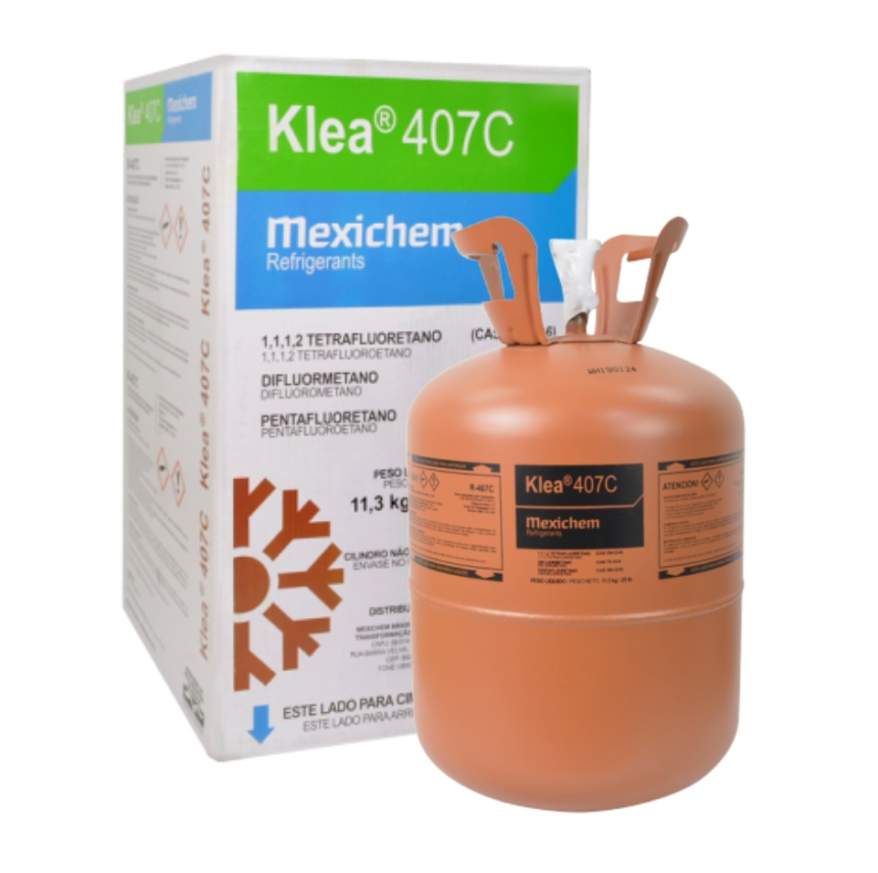 FLUIDO REFRIGERANTE KLEA 407C (R-407C) DAC 11,30 KG