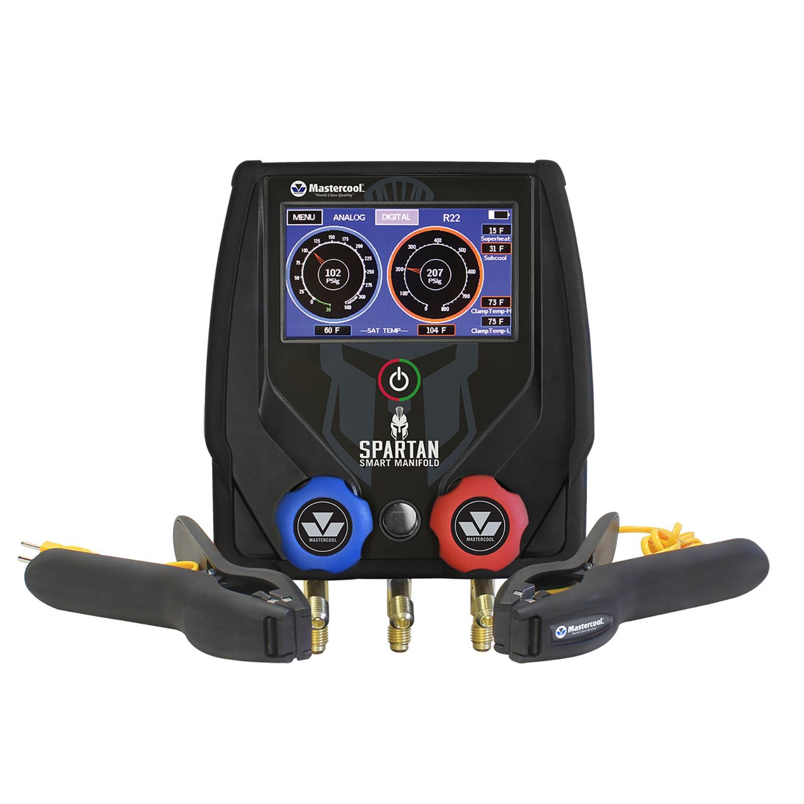 Manifold Digital Spartan 2 vias Bluetooth com Vacuômetro/2 termopares/ Mala Transporte