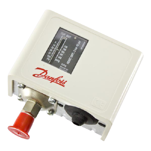 Pressostato Alta KP5 Manual  Danfoss (060117191)