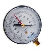 Vacuômetro Livre de Vibração em Mbar Vulkan
