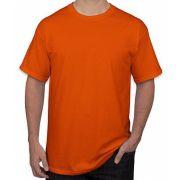 Camiseta adulto manga curta PV LARANJA