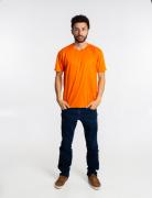 Camiseta masculina malha fria PV LARANJA