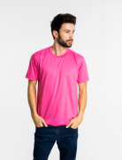 Camiseta masculina malha fria PV PINK adulto