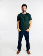 Camiseta adulto manga curta PV VERDE MUSGO