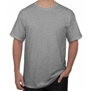Kit 5 camisetas 88% algodão 12% poliéster MESCLA
