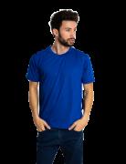 Kit 5 camisetas malha fria PV AZUL ROYAL adulto
