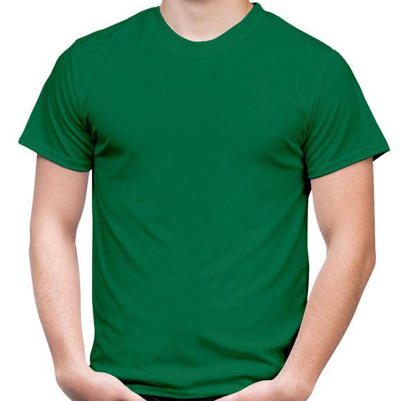 Camiseta adulto manga curta PV VERDE BANDEIRA
