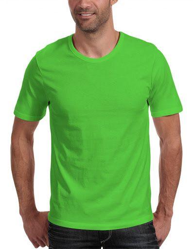 Camiseta adulto manga curta PV VERDE LIMÃO