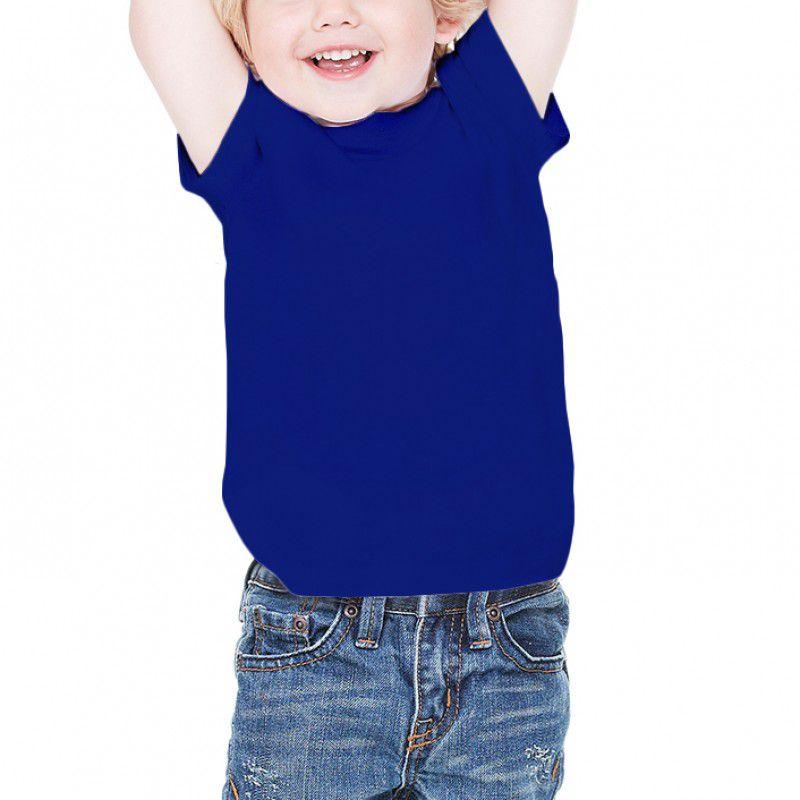 Camiseta infantil manga curta PV AZUL ROYAL