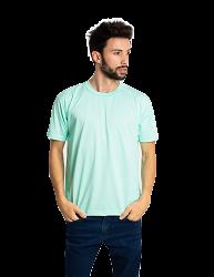 Camiseta masculina malha fria PV AZUL CLARO