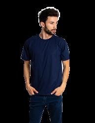 Kit 5 camisetas malha fria PV AZUL MARINHO adulto