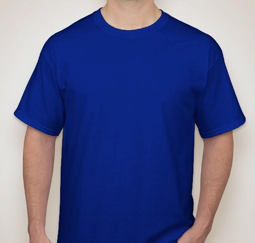 Kit 5 camisetas PV malha fria AZUL ROYAL