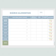 Diário Alimentar - Linha Consultório