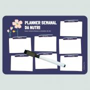 Ímã de Geladeira - Planner Semanal da Nutri