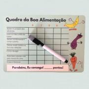 Ímã  Infantil - quadro da Boa Alimentação