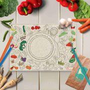 Jogo Americano Infantil - Vamos Encontrar os Alimentos?