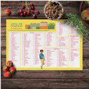 Lista de Compras Saudável - Dia de Feira