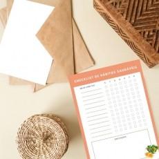 Versão Digital (PDF) - Checklist de Hábitos Saudáveis