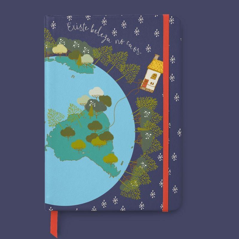 Caderneta de Anotações - Beleza no Caos