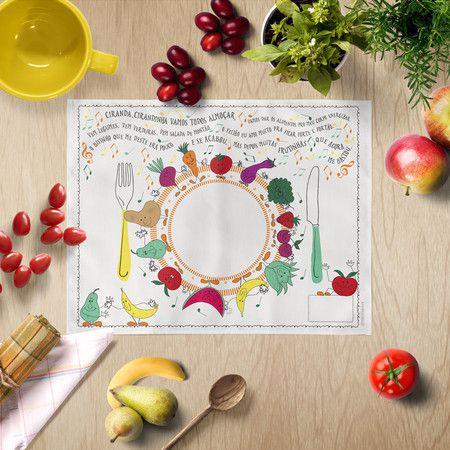 Ciranda dos Alimentos para Crianças