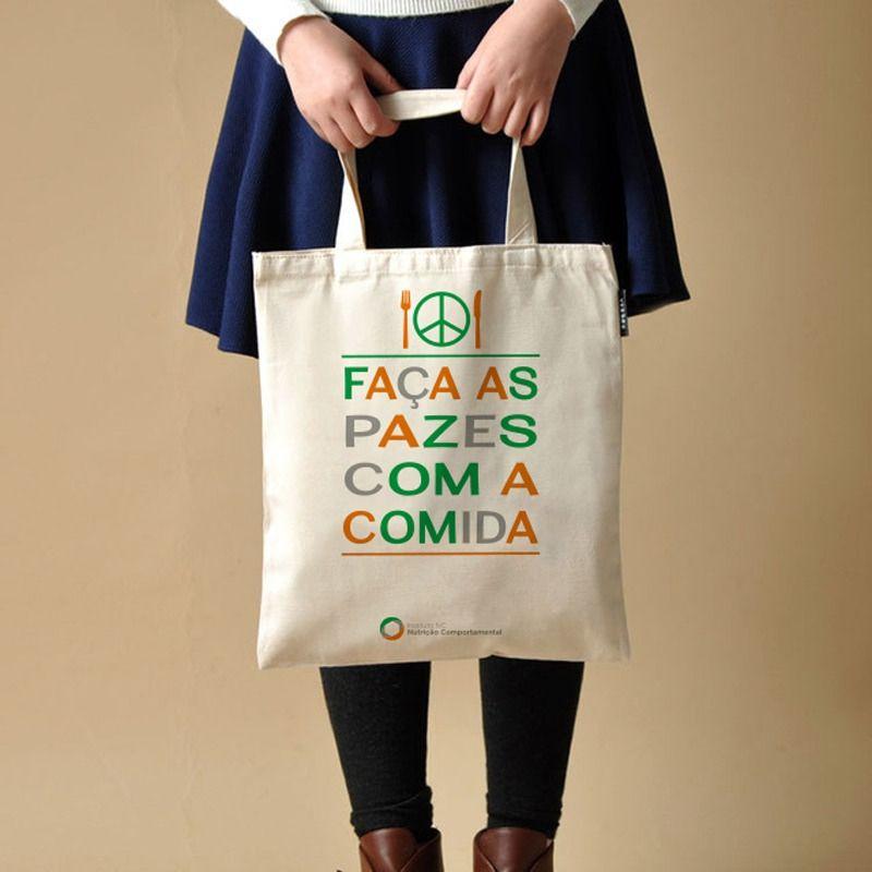 Eco Bag NC - Faça as Pazes com a Comida