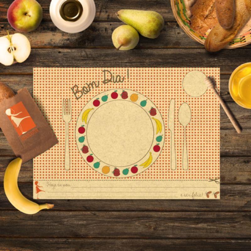 Jogo Americano - Café da Manhã