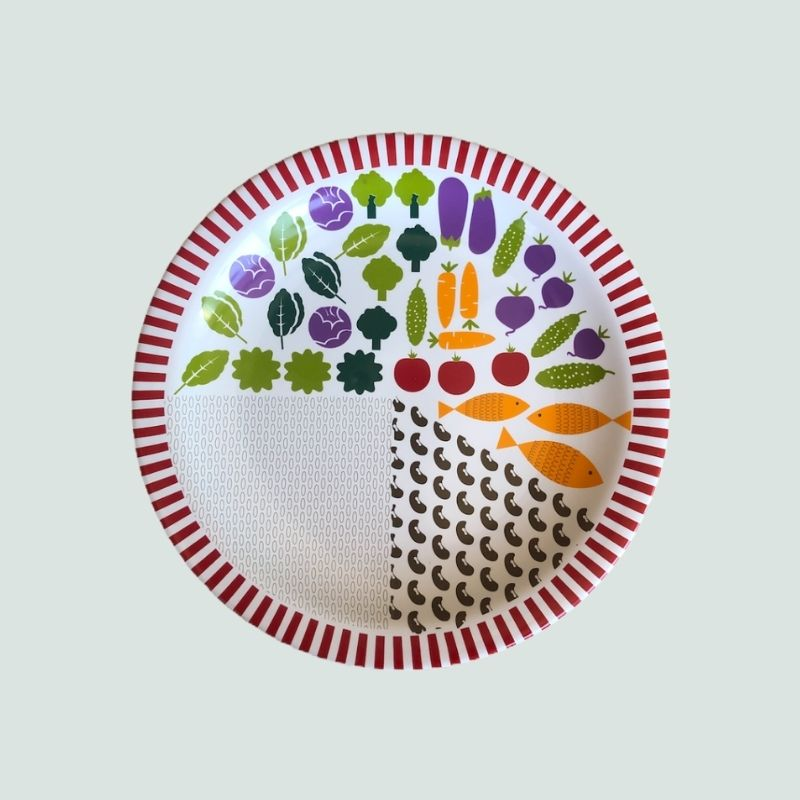 O Prato Ideal de Porcelana