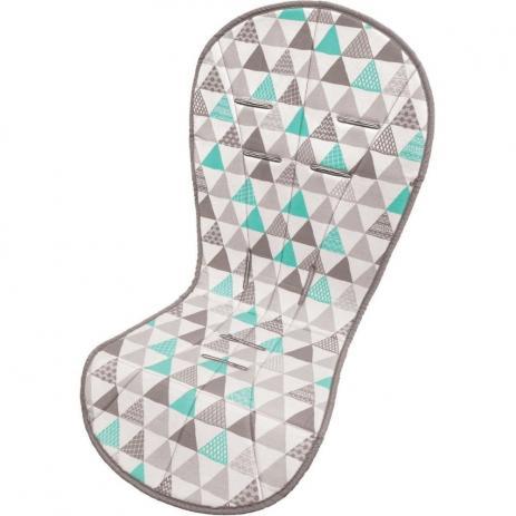 Almofada protetora para Carrinho de Bebê - Buba - Triângulos