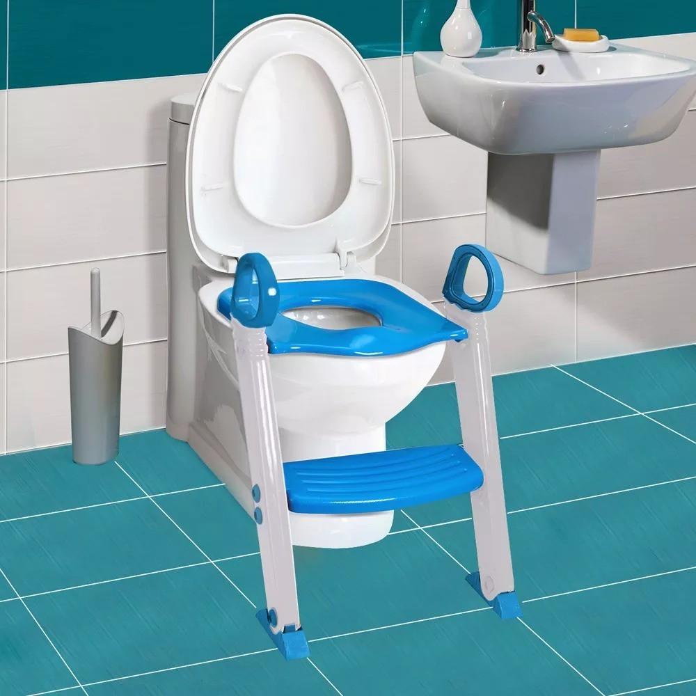 ASSENTO REDUTOR COM ESCADA Clingo- Azul
