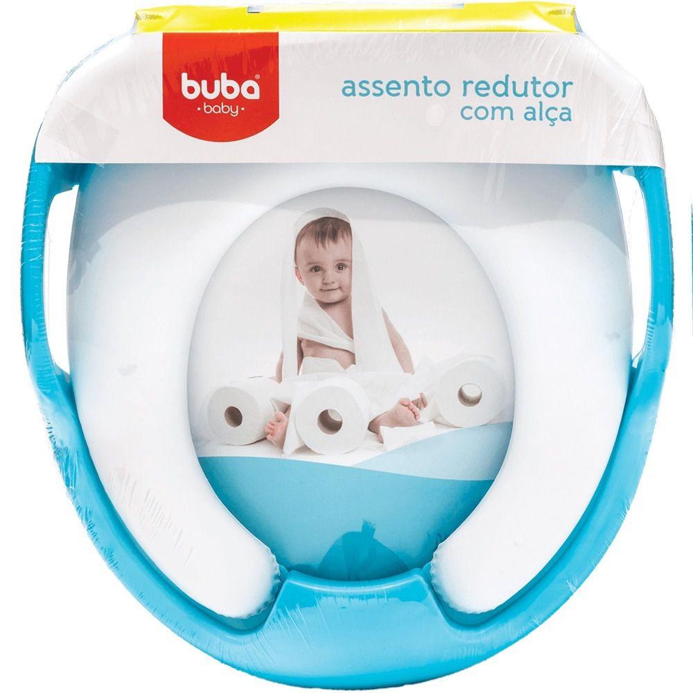ASSENTO REDUTOR SOFT COM ALCA BUBA - AZUL