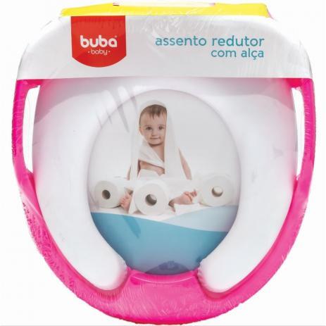 ASSENTO REDUTOR SOFT COM ALÇA BUBA - ROSA