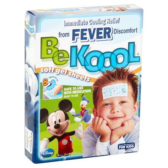 BeKoool Fever - Adesivo de alívio para febre e vacina