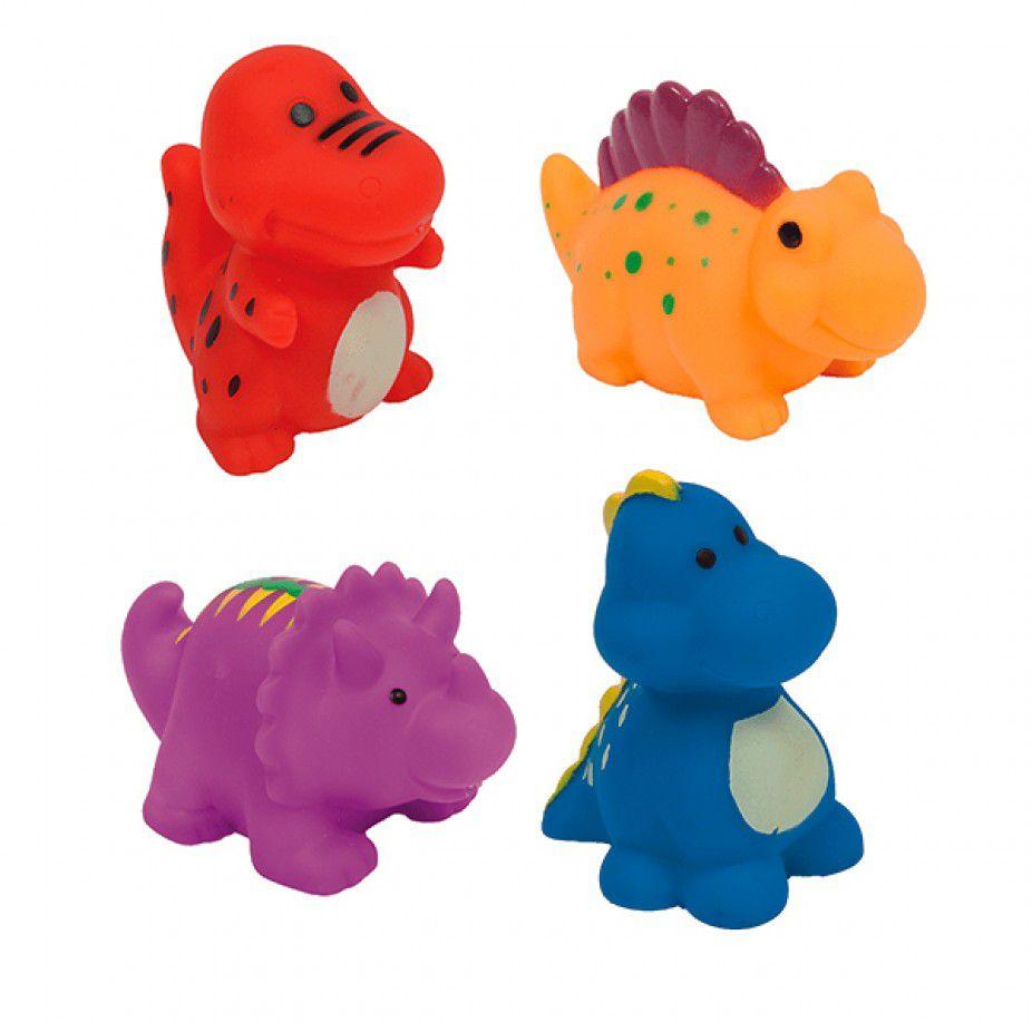 Bichinhos para o banho Buba - Dinossauros