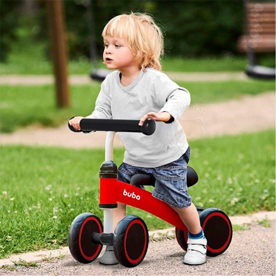 Bicicleta de Equilíbrio 4 rodas Buba