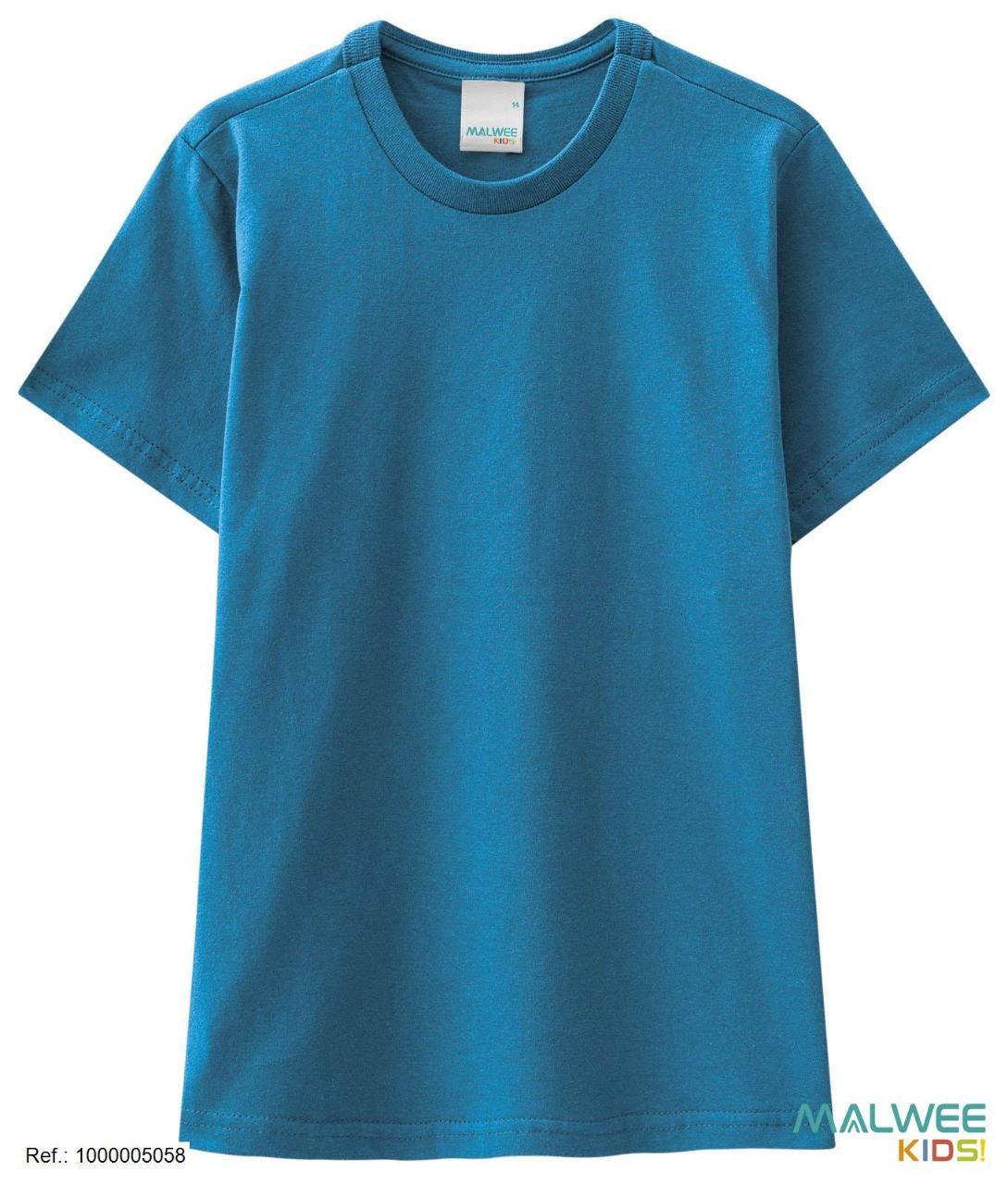 Camiseta Algodão Malwee - Azul