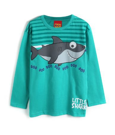 Blusa Baby Shark Algodão não peluciado KYLY