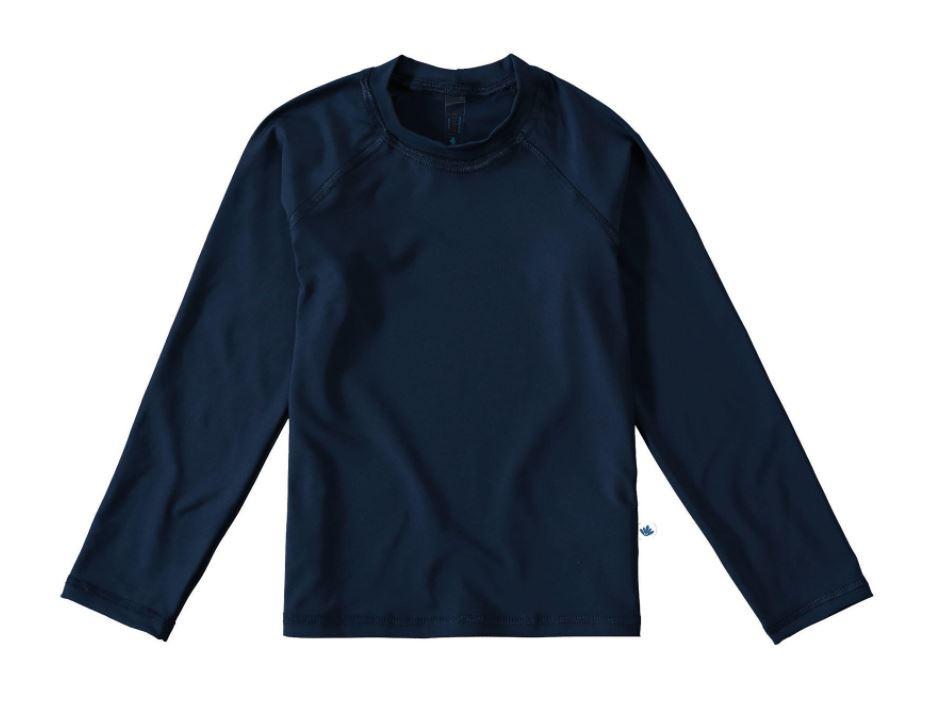 Blusa com Proteção UV Malwee Liberta - Azul Marinho