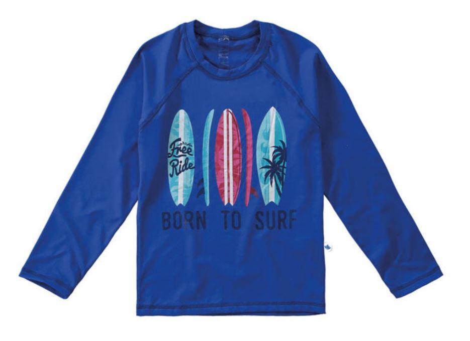 Blusa com Proteção UV Malwee Liberta - Prancha de Surf