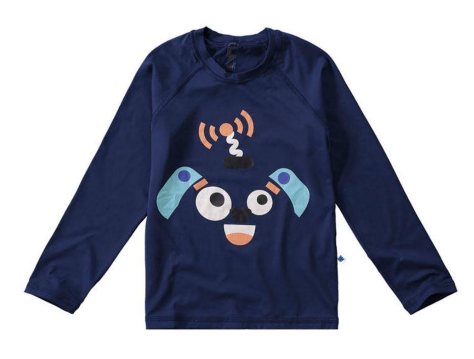 Blusa com Proteção UV Malwee Liberta - Ursinho