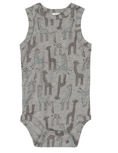 Body Algodão Regata Up Baby Girafas
