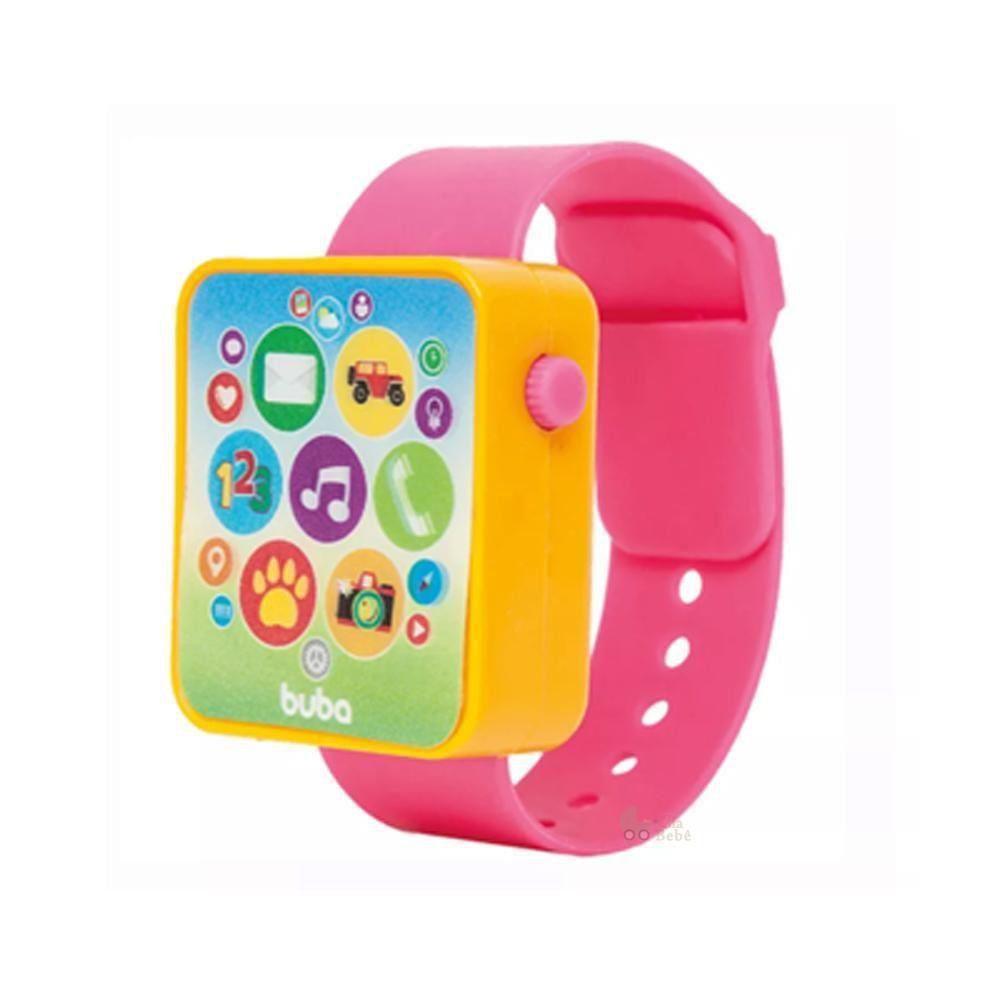 Buba Watch - Relógio Musical Rosa