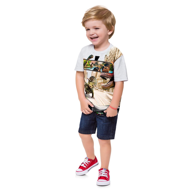 Camisa Dinossauros KYLY