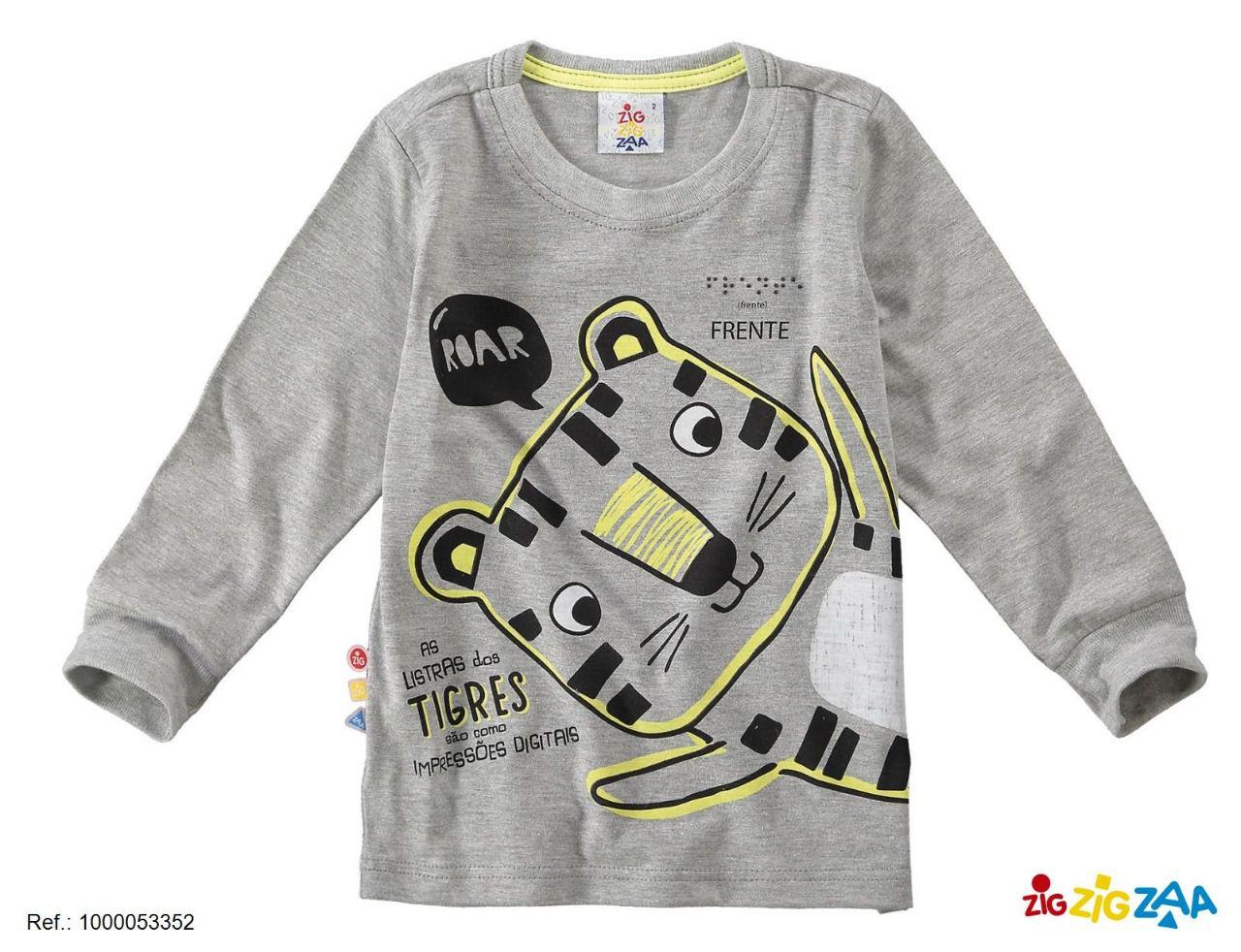 Camisa Manga Longa Tigrinho (Matheus)